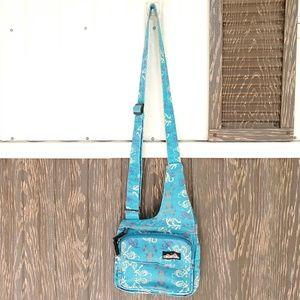 Kavu canvas bag crossbody blue